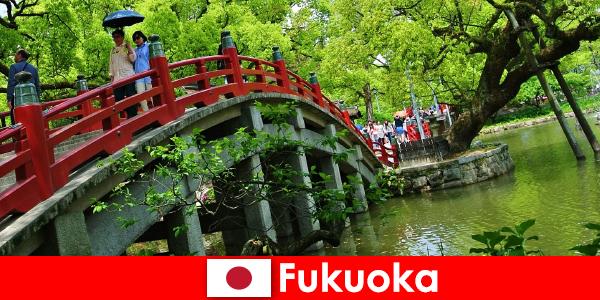 Göçmenler için Fukuoka, yüksek yaşam kalitesine sahip rahat ve uluslararası bir atmosferdir.