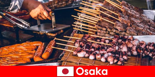 Osaka, Japonya mutfağı ve tatil macerası arayanlar için bir uğrak limanıdır.