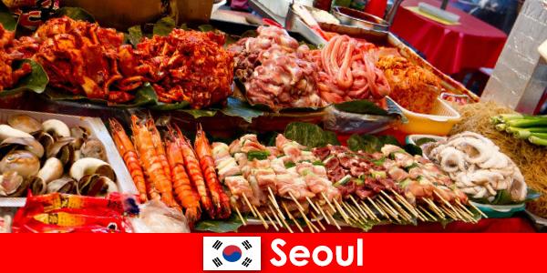 Seul, lezzetli ve yaratıcı sokak yemekleriyle de gezginler arasında ünlüdür.