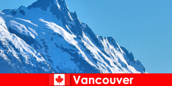 Kanada'daki Vancouver şehri, dağcılık turizmi için ana destinasyondur