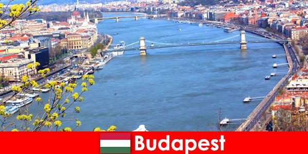Macaristan'daki Budapeşte, banyo ve sağlıklı yaşam tatilleri için popüler bir seyahat ipucudur