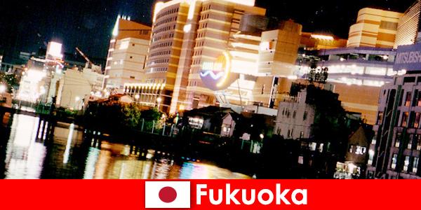 Fukuoka'nın sayısız diskosu, gece kulübü veya restoranı tatilciler için en iyi buluşma yeridir.