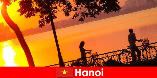 Hanoi, sıcak havayı seven gezginler için sonsuz eğlencedir