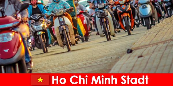 Ho Chi Minh Şehri, bisikletçiler ve spor meraklıları için her zaman bir zevktir