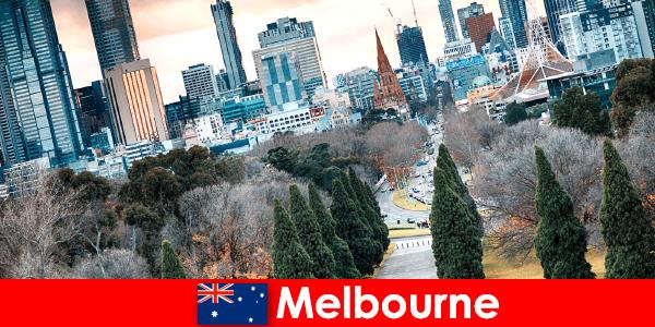 Melbourne'daki kültürel çeşitlilik kısa tatilcileri de memnun ediyor