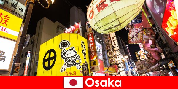 Osaka'daki yabancılar için her zaman komedi eğlencesi ana temadır