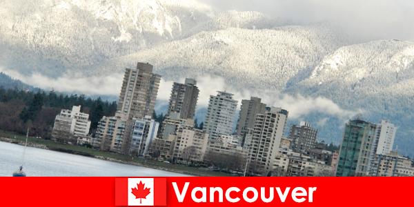 Okyanus ve dağlar arasındaki harika şehir Vancouver, spor turistleri için pek çok fırsat sunuyor